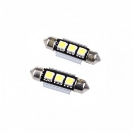 EPL04 ΛΑΜΠΑ C5W C10W 39mm LED 3SMD 5050 - 2 ΤΕΜ