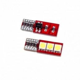 EPL36 ΛΑΜΠΑ CANBUS  W5W T10 3SMD 5050  - 2 ΤΕΜ